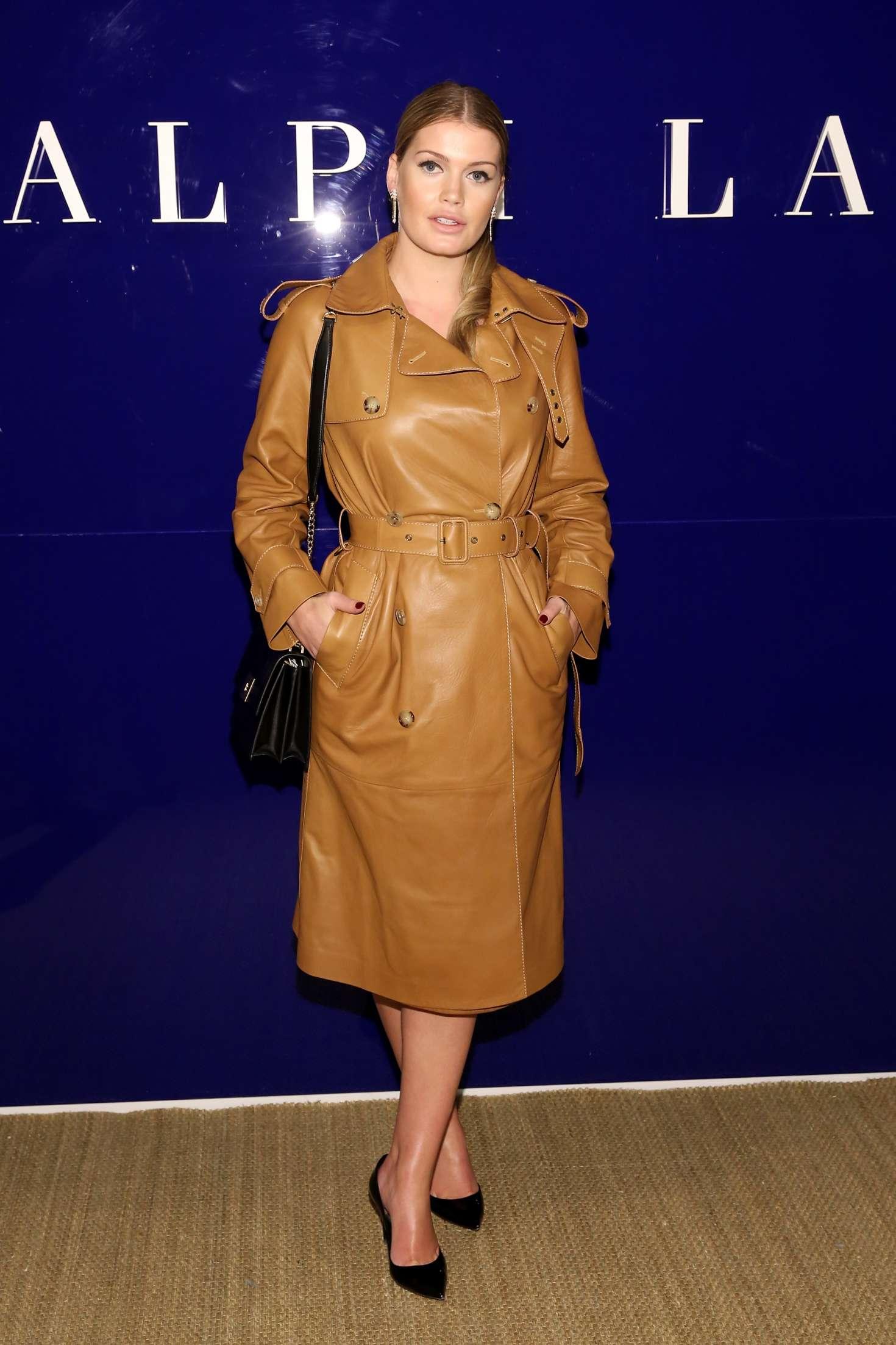Kitty Spencer Ralph Lauren Fashion Show 2018 In New York
