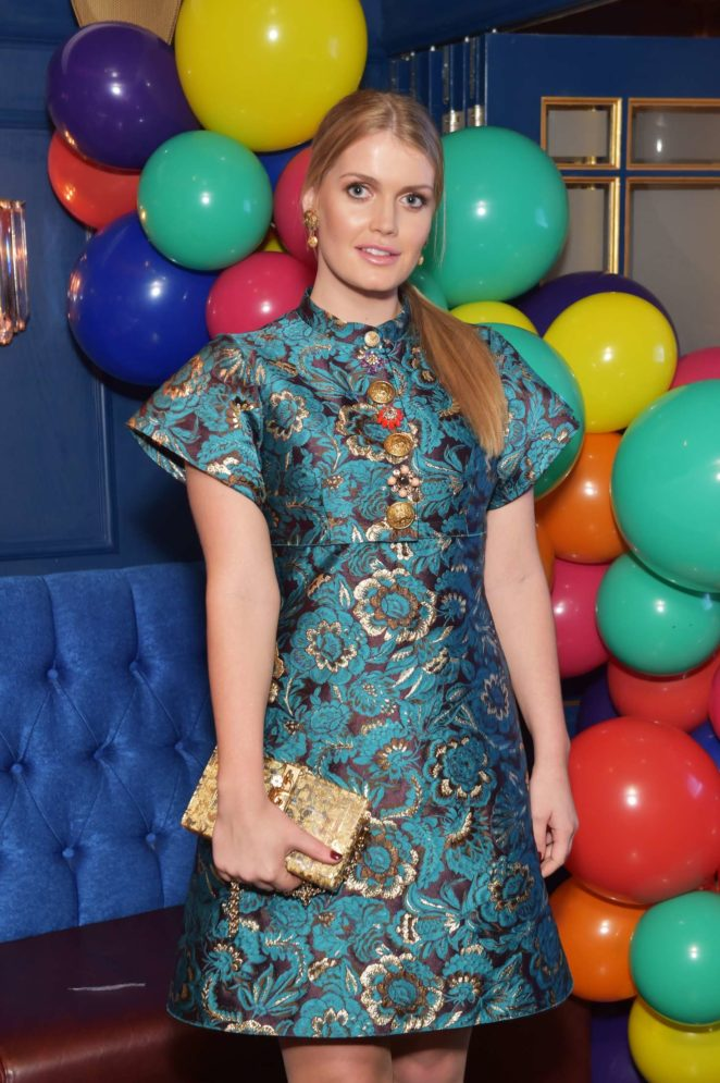 Kitty Spencer - The Royal Marsden Cancer Charity Gala Dinner in London