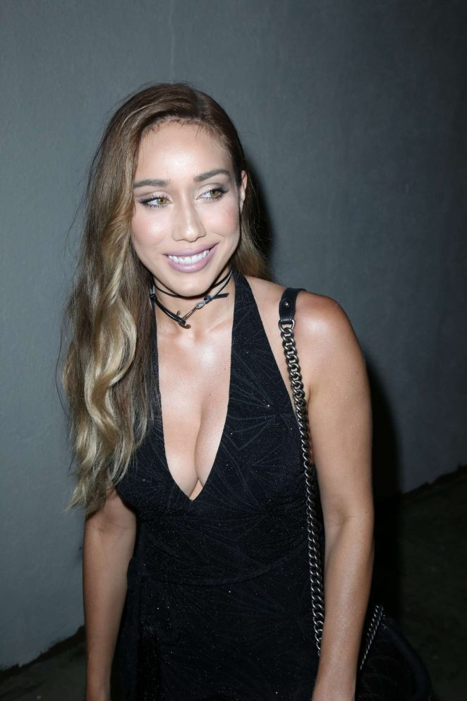 Korrina Rico at Le Jardin Nightclub in Los Angeles