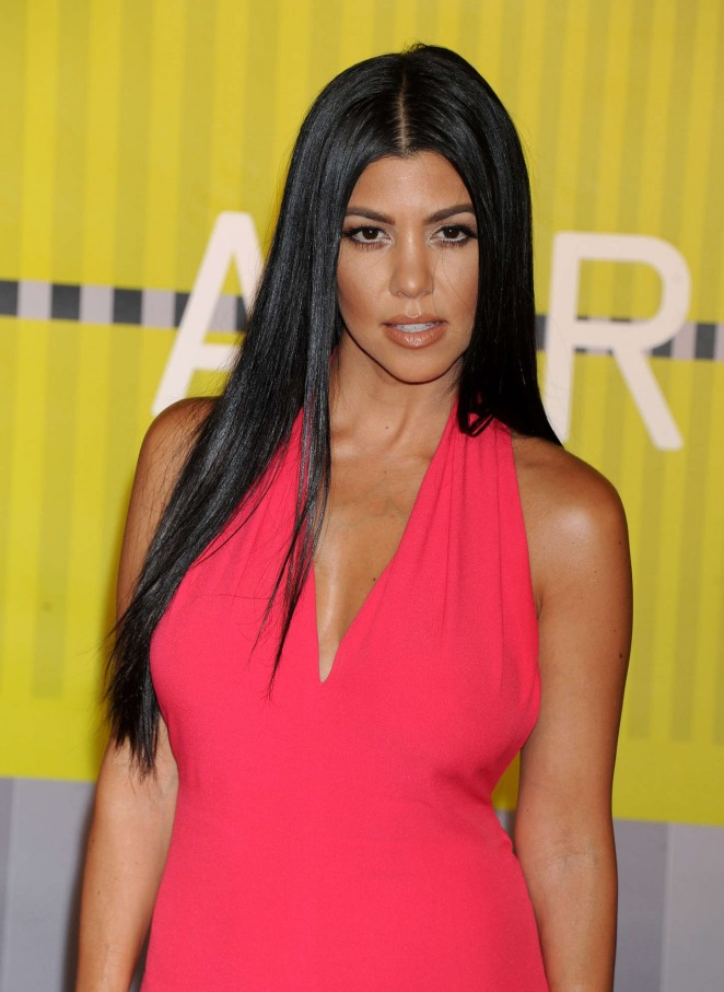 Kourtney Kardashian - 2015 MTV Video Music Awards in LA