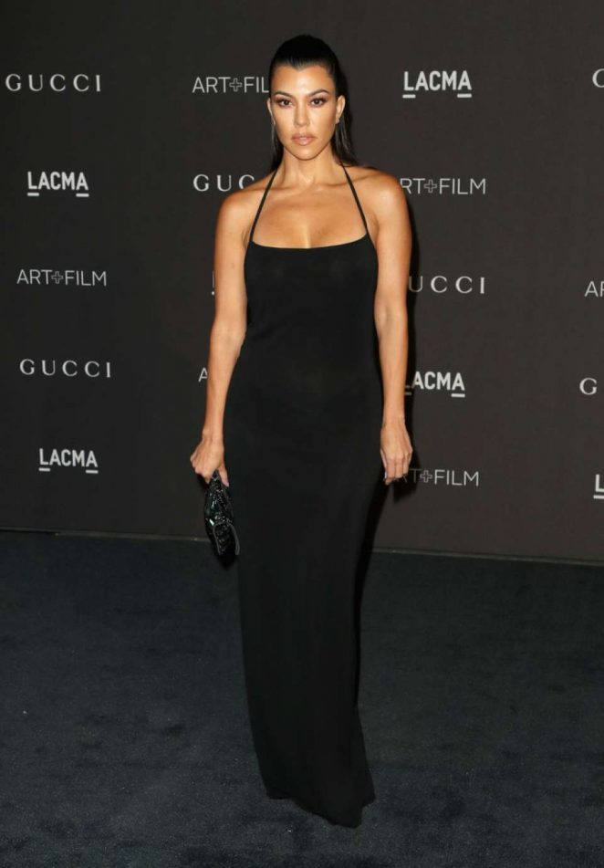 Kourtney Kardashian - 2018 LACMA Art+Film Gala in Los Angeles