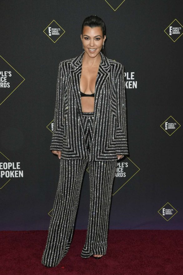 Kourtney Kardashian – 2019 E! Peoples Choice Awards in Santa Monica