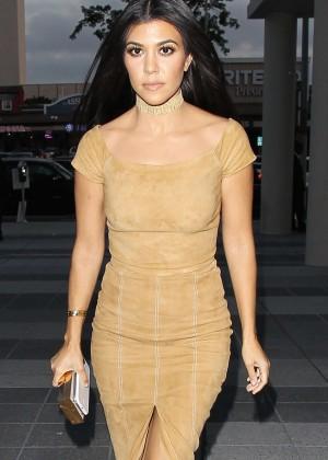 Kourtney Kardashian - Alice + Olivia Fashion Show 2016 in Los Angeles