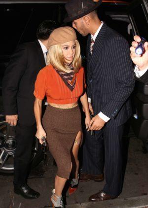 Kourtney Kardashian and boyfriend Younes Bendjima at ...