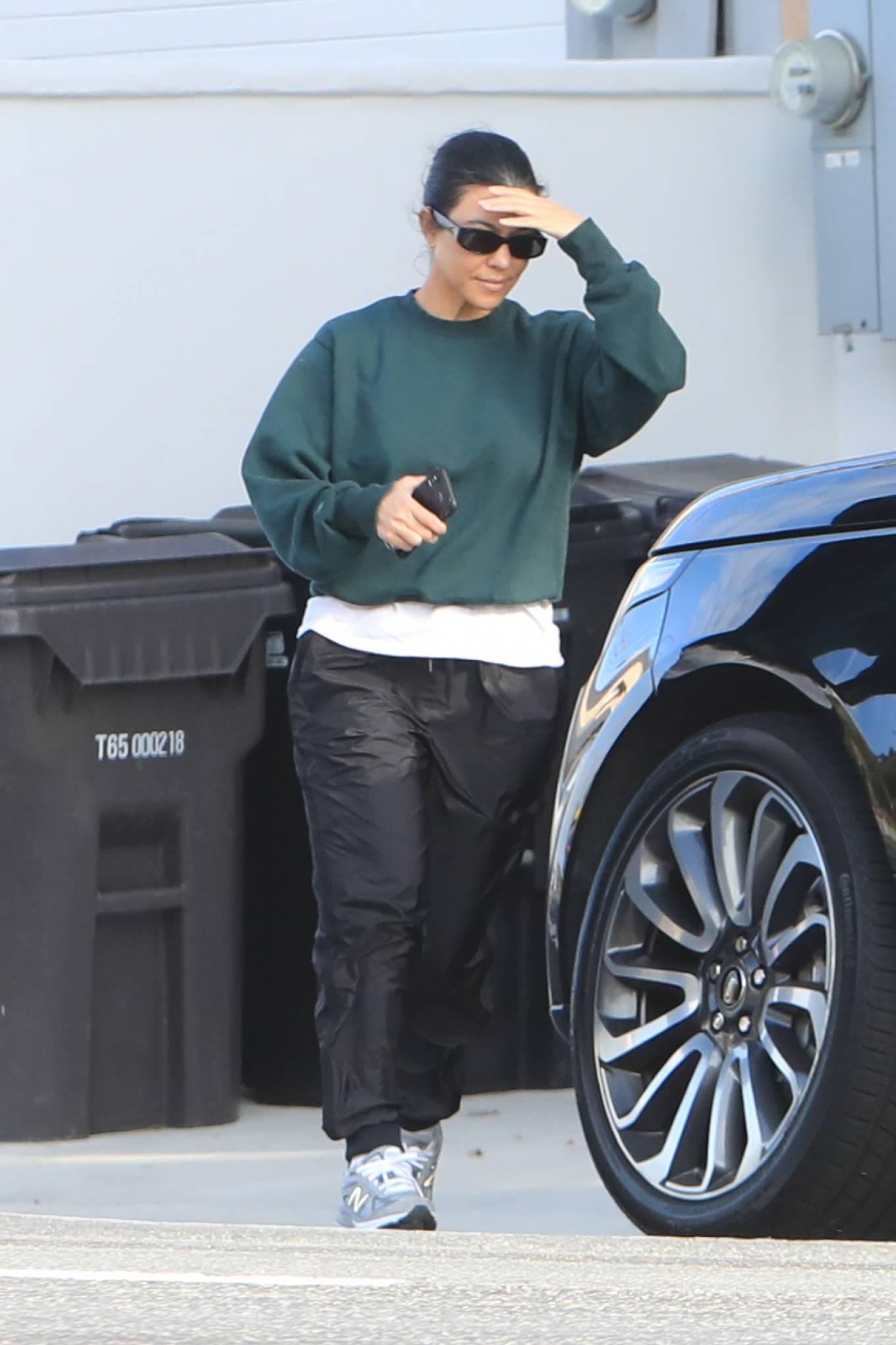 Kourtney Kardashian and Scott Disick - Out in Los Angeles