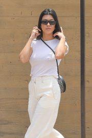 Kourtney Kardashian - Arrives at Nobu in Malibu