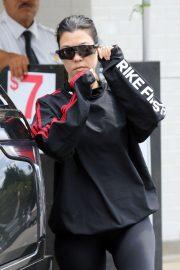 Kourtney Kardashian at Joan's On Third in Los Angeles