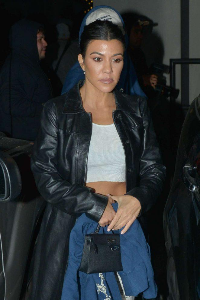 Kourtney Kardashian at the Troubador in West Hollywood