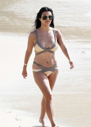 Kourtney Kardashian in Bikini -09