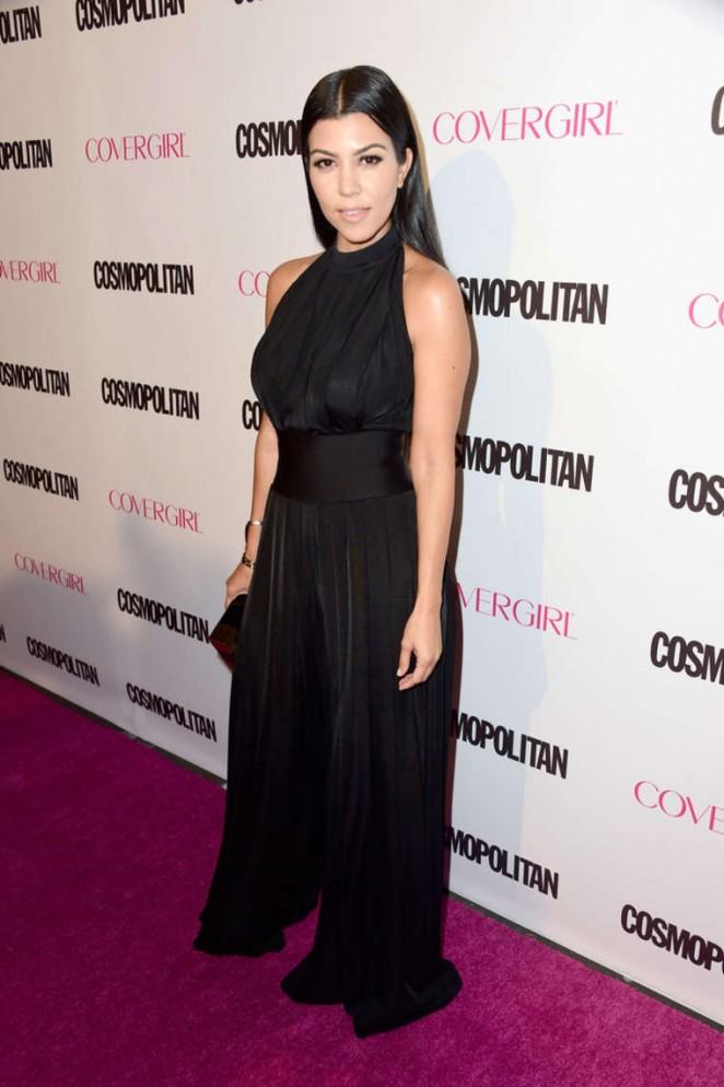 Kourtney Kardashian – Cosmopolitan's 50th Birthday Celebration in West Hollywood