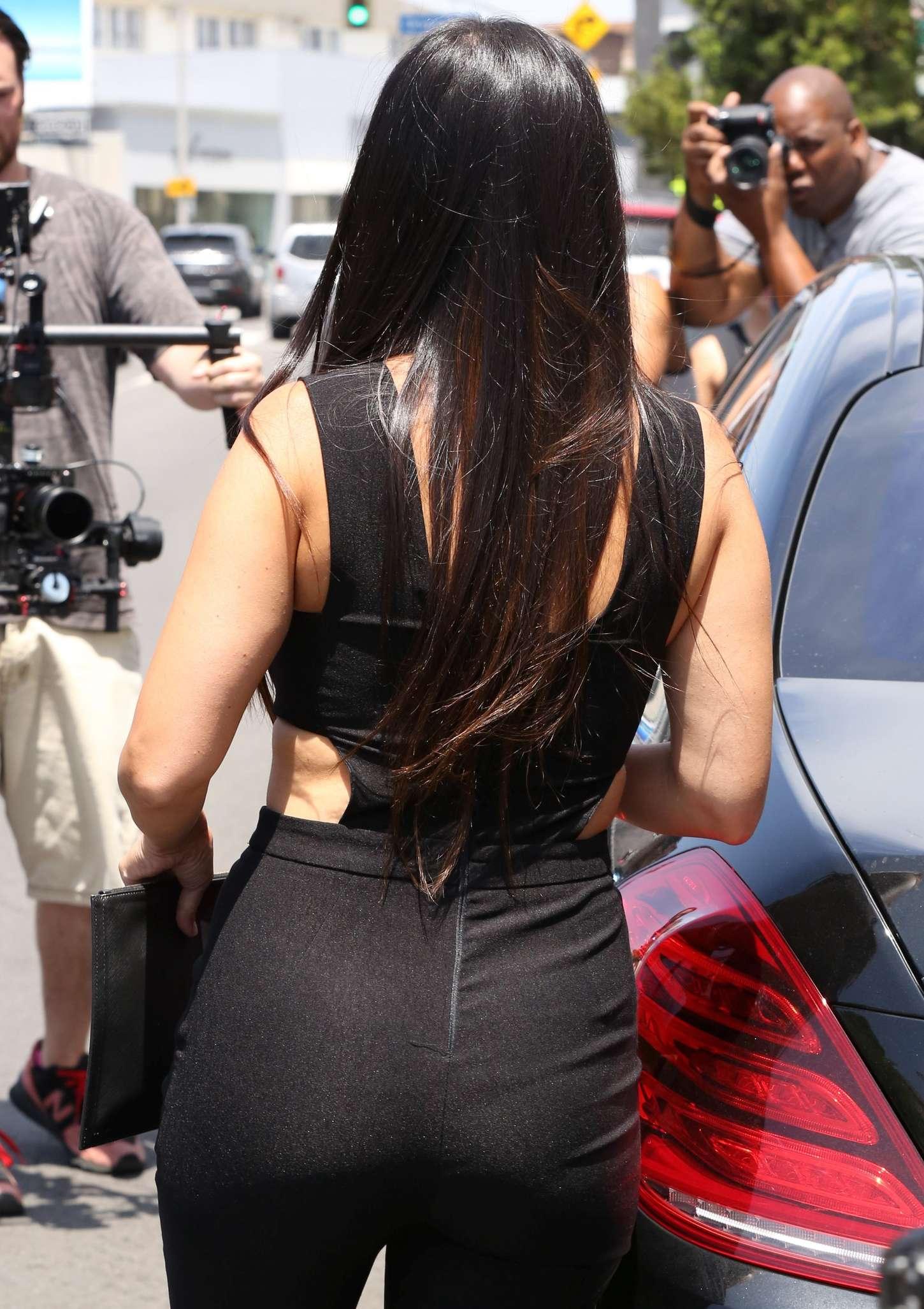 Kourtney Kardashian 2015 : Kourtney Kardashian Booty in Pants -17