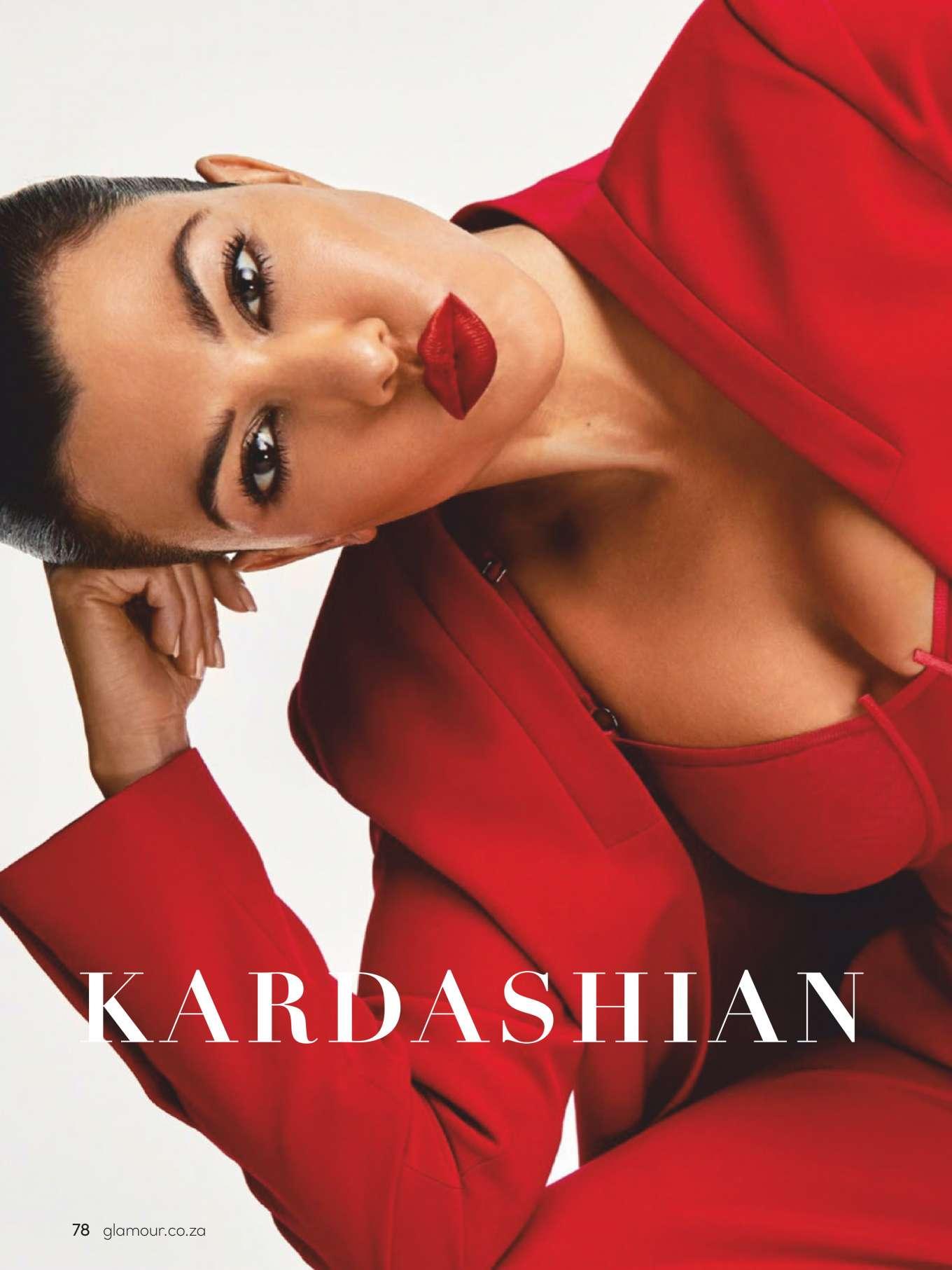 Kourtney Kardashian - Glamour South Africa Magazine (July/August 2019)