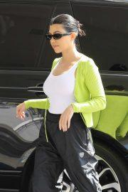 Kourtney Kardashian - Goes on an afternoon coffee run in Studio City