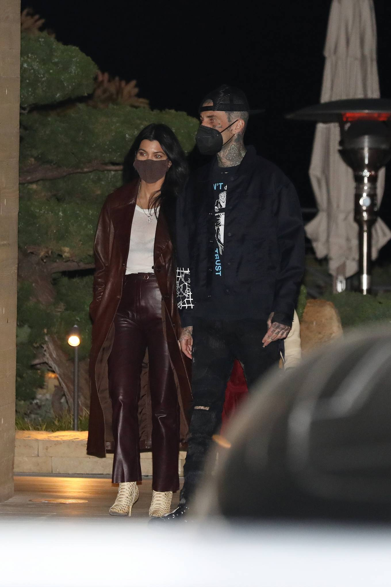 Kourtney Kardashian - Grabs dinner at Nobu Malibu