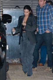Kourtney Kardashian - Has dinner at Nobu in Malibu