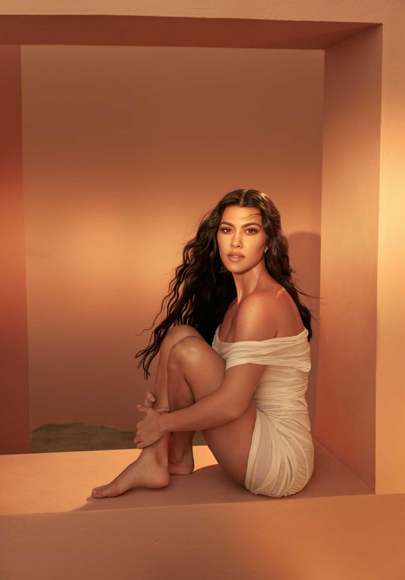 Kourtney Kardashian - Health magzine (April 2020)