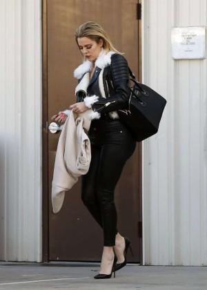 Kourtney Kardashian in Tight Pants -04