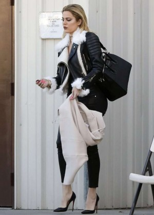 Kourtney Kardashian in Tight Pants -15