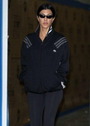 Kourtney Kardashian - Leaving her class in Los Angeles