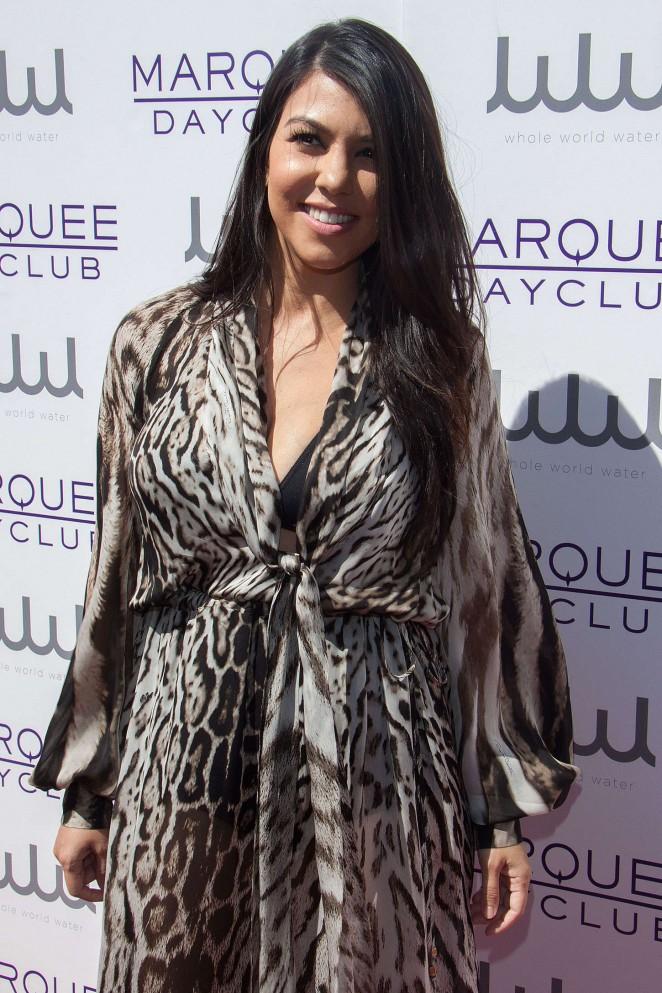 Kourtney Kardashian - Marquee Dayclub's Season Preview in Las Vegas