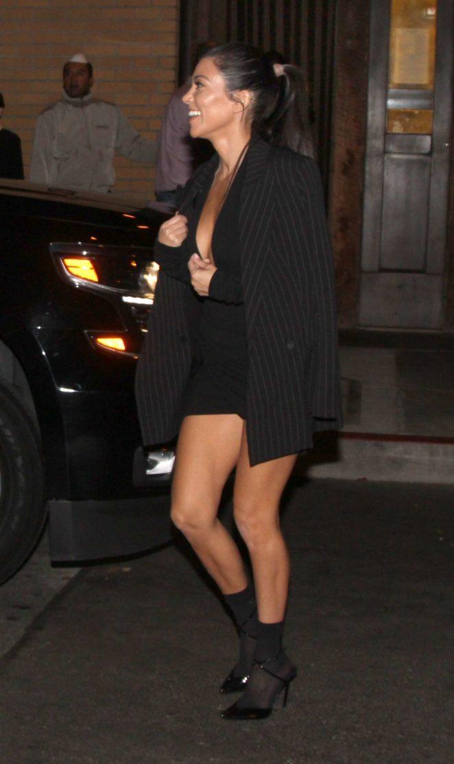 Kourtney Kardashian night out in San Francisco