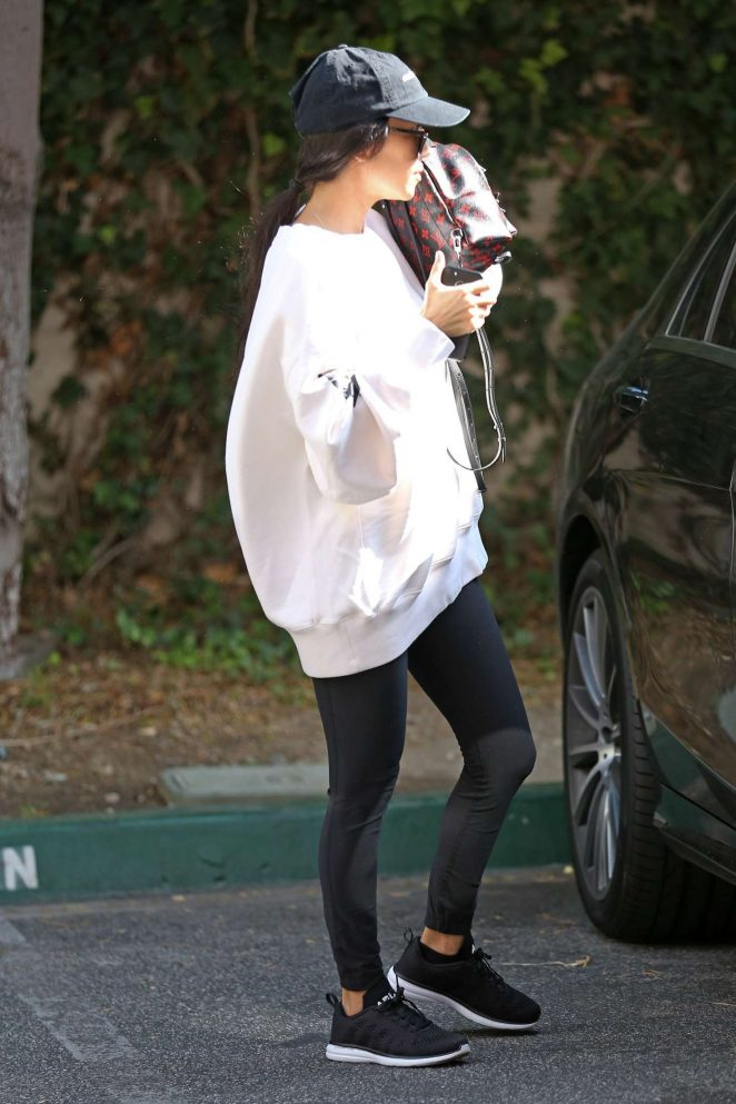 Kourtney Kardashian out and about in Calabasas -04