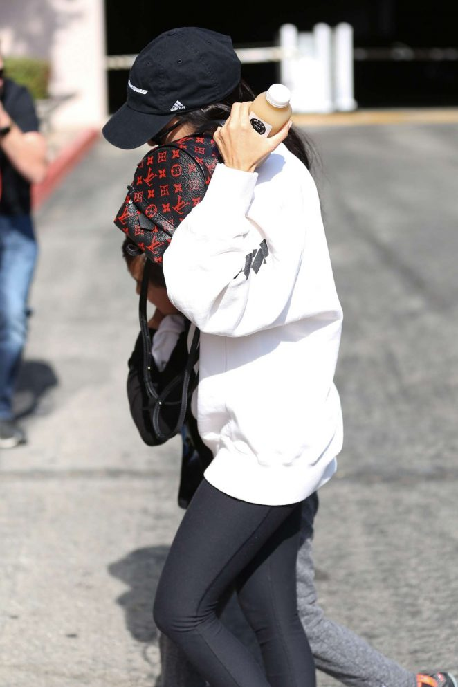 Kourtney Kardashian out and about in Calabasas -05