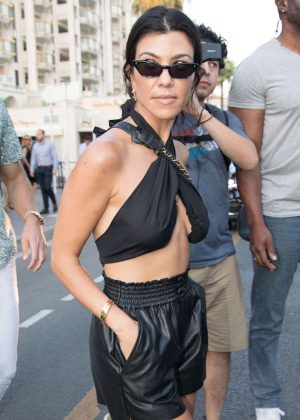 Kourtney Kardashian out and about in Cannes