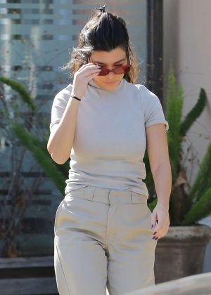 Kourtney Kardashian - Out and about in Los Angeles