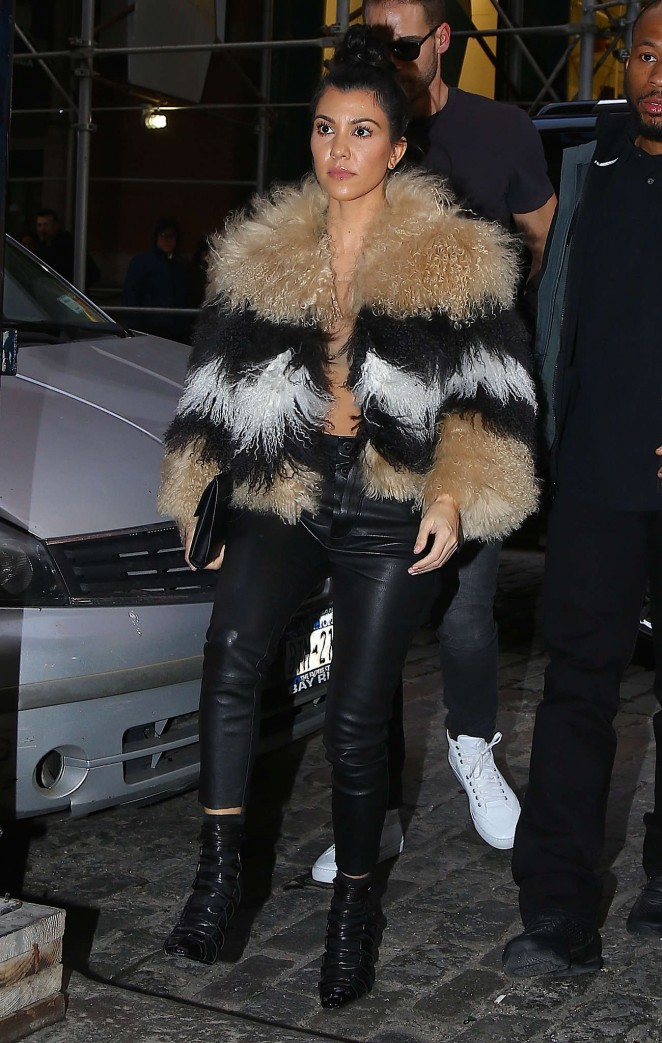 Kourtney Kardashian out and about in New York