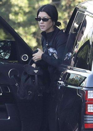 Kourtney Kardashian - Out in Beverly Hills