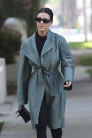 Kourtney Kardashian - Out in Calabasas