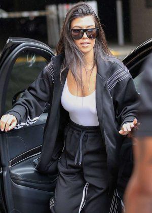 Kourtney Kardashian Out in Los Angeles