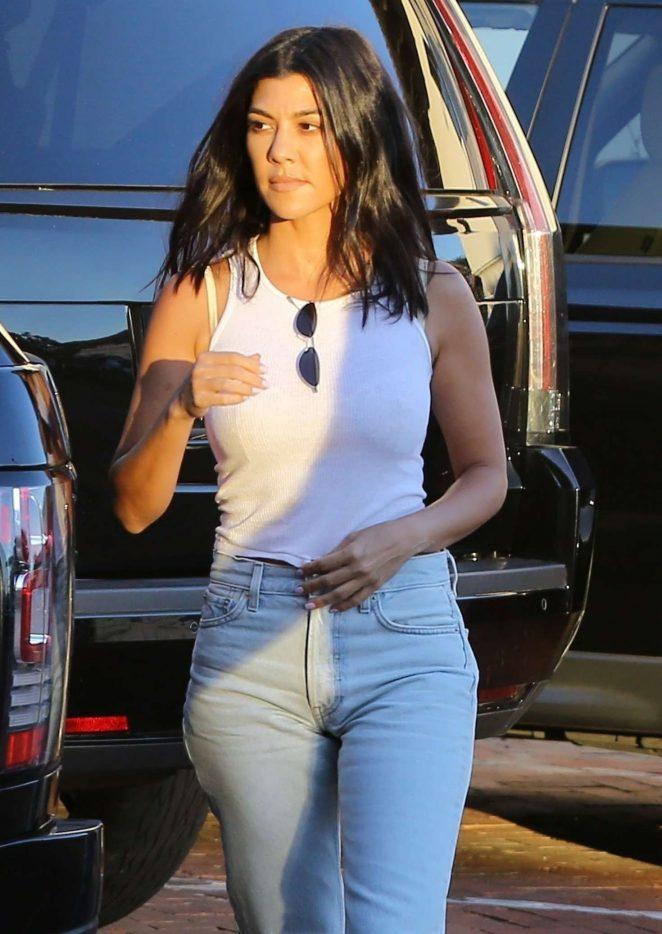 Kourtney Kardashian - Out in Malibu