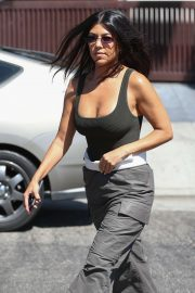 Kourtney Kardashian - Out in West Hollywood