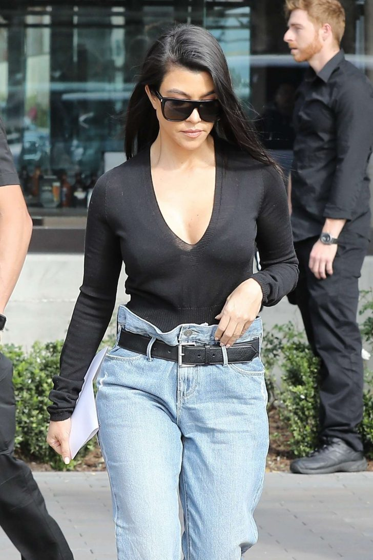 Kourtney Kardashian - Out in Woodland Hills
