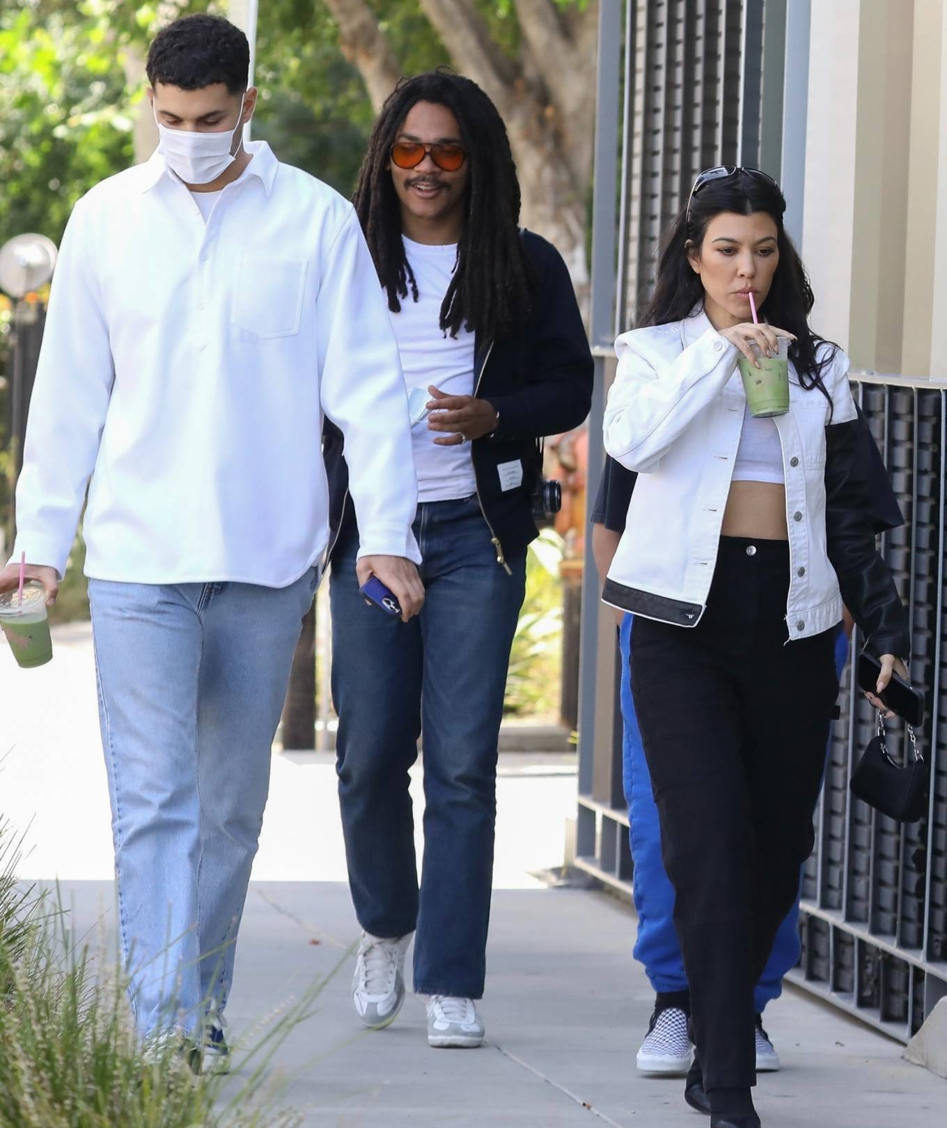 Kourtney Kardashian 2021 : Kourtney Kardashian – Seen at Cha Cha Matcha in West Hollywood-12