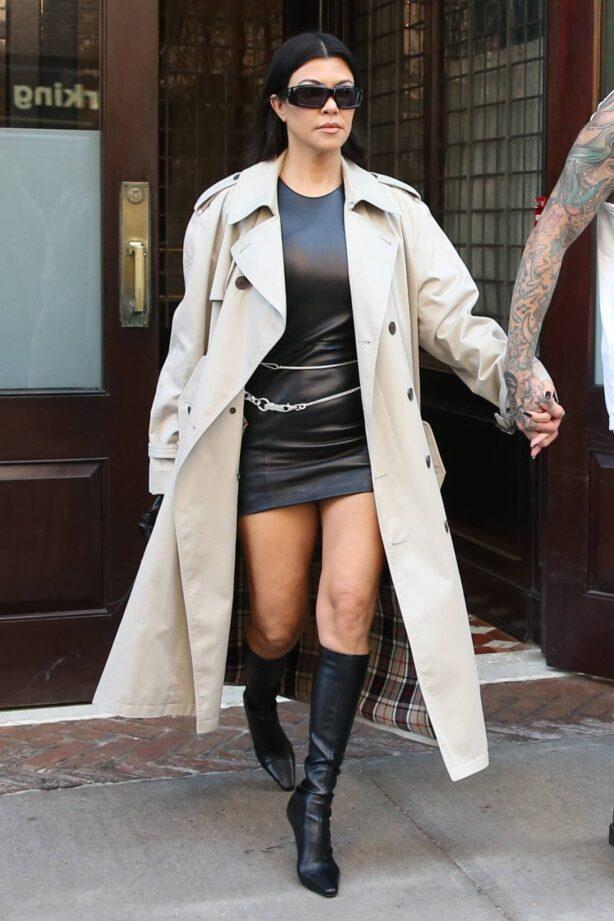 Kourtney Kardashian - Seen at Greenwich Hotel in New York