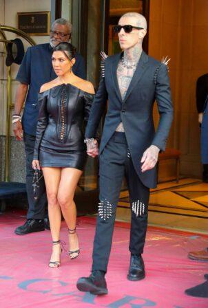 Kourtney Kardashian - Seen heading to VMAs in New York