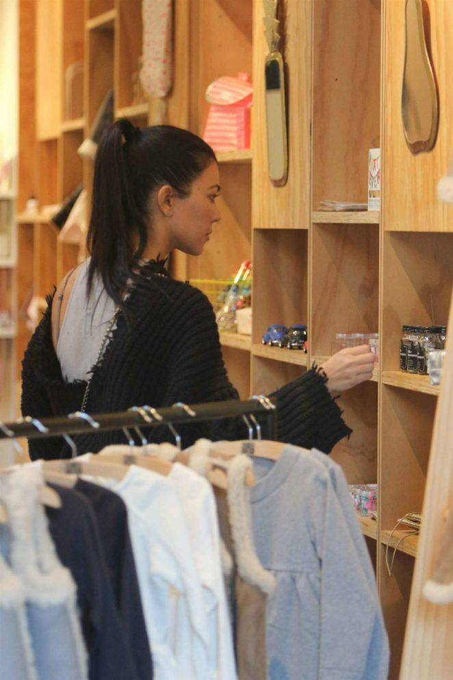 Kourtney Kardashian: Shopping in West Hollywood -23