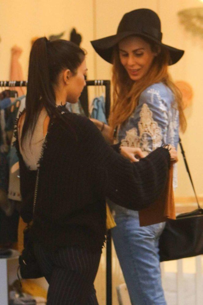 Kourtney Kardashian: Shopping in West Hollywood -24