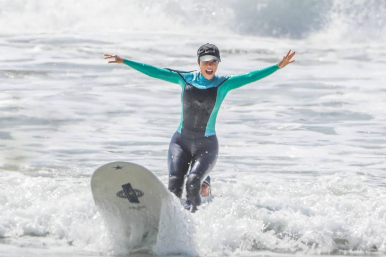 Kourtney Kardashian - Surf candids in Malibu