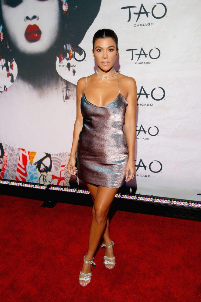 Kourtney Kardashian - TAO Chicago Grand Opening Celebration in Chicago