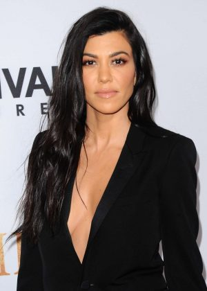 Kourtney Kardashian - 'The Promise' Premiere in Los Angeles