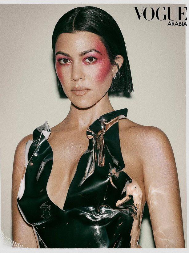Kourtney Kardashian - Vogue Arabia Magazine (July/August 2020)