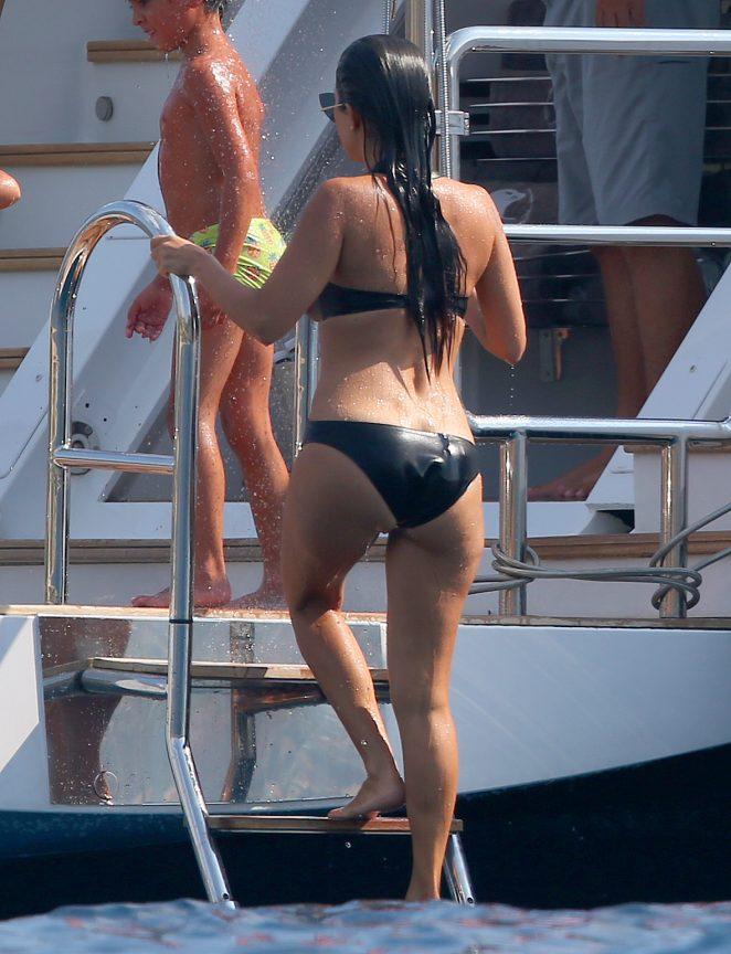 Kourtney Kardashian in Swimsuit -26