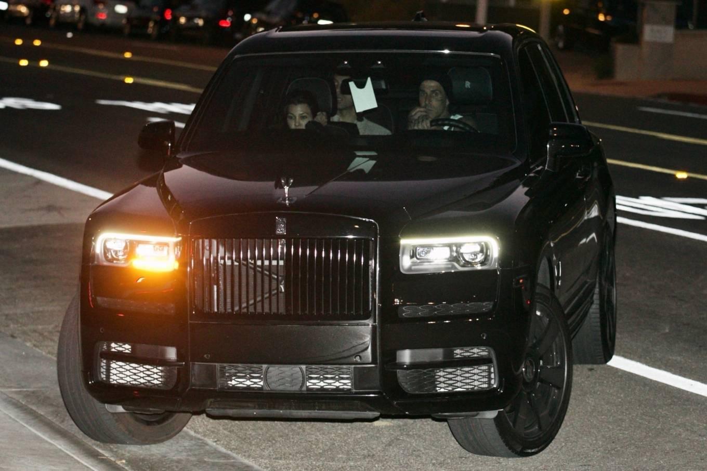 Kourtney Kardashian 2021 : Kourtney Kardashian – With boyfriend Travis Barker seen at Nobu in Malibu-05