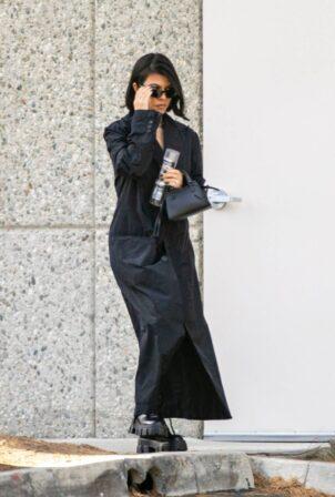 Kourtney Kardashian - With Kris Jenner plan for Kim's birthday bash in Calabasas