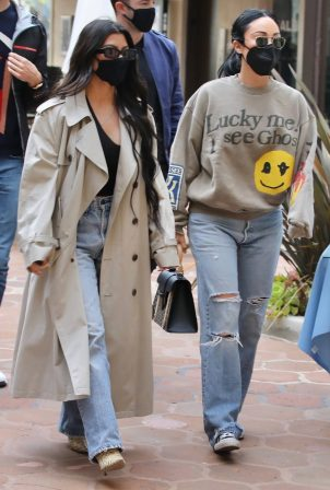Kourtney Kardashian - With Stephanie Shepherd seen at Taverna Tony in Malibu