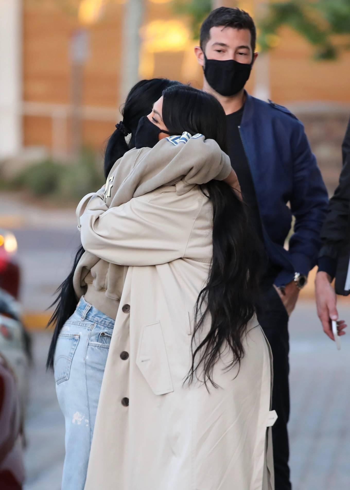 Kourtney Kardashian 2021 : Kourtney Kardashian – With Stephanie Shepherd seen at Taverna Tony in Malibu-08